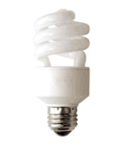 Typical CFL Bulb